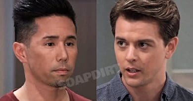 General Hospital Spoilers: Brad Cooper (Parry Shen) - Michael Corinthos (Chad Duell)