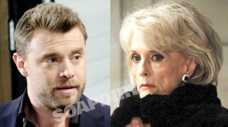 General Hospital Spoilers: Drew Cain (Billy Miller) - Helena Cassadine (Constance Towers)