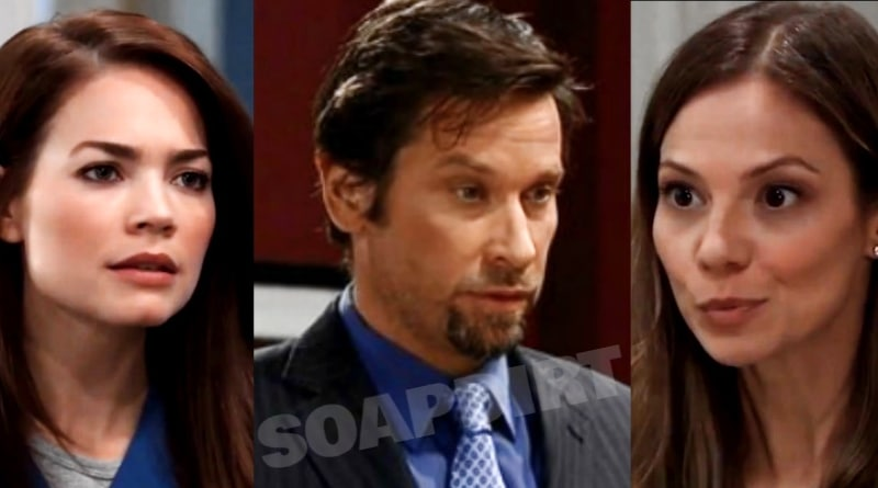 General Hospital Spoilers: Elizabeth Webber (Rebecca Herbst) - Franco Baldwin (Roger Howarth) - Kim Nero (Tamara Braun)