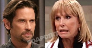 General Hospital Spoilers: Franco Baldwin - Dranco (Roger Howarth) - Monica Quartermaine (Leslie Charleson)