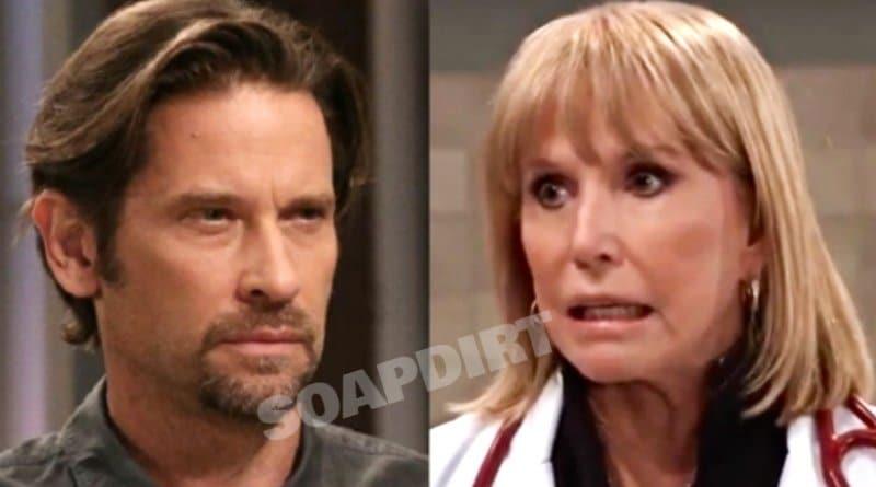 General Hospital Spoilers: Franco Baldwin - Dranco (Roger Howarth) - Monica Quartermaine (Leslie Charleson)