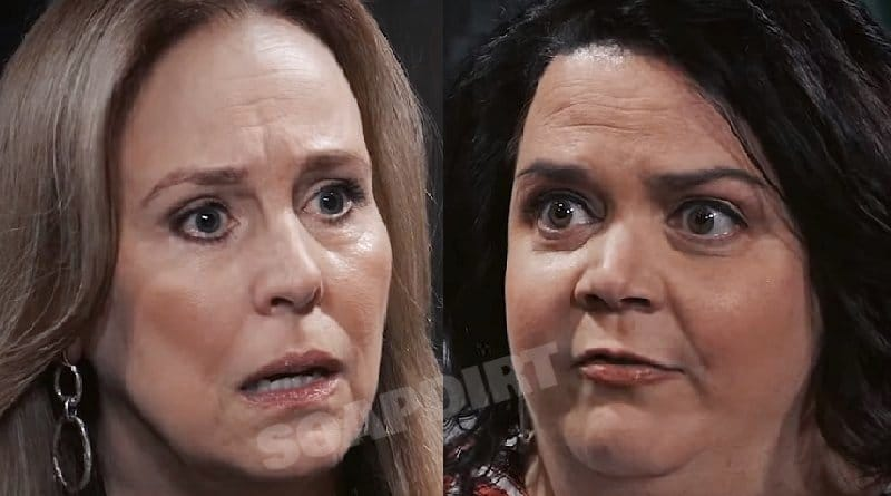General Hospital Spoilers: Laura Spencer (Genie Francis) - Chelsea Lambas (Jen Ray)