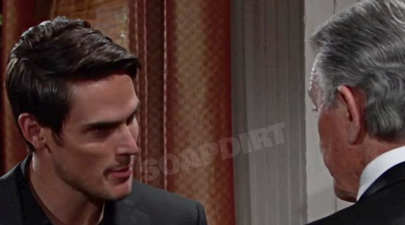 Young and the Restless Spoilers: Adam newman (Mark Grossman) - Victor Newman (Eric Braeden)