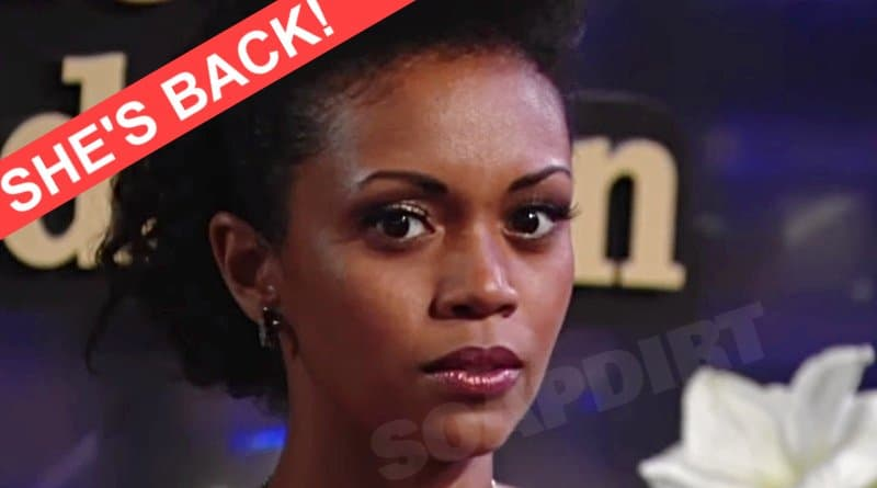 Young and the Restless Spoilers: Hilary Curtis (Mishael Morgan)