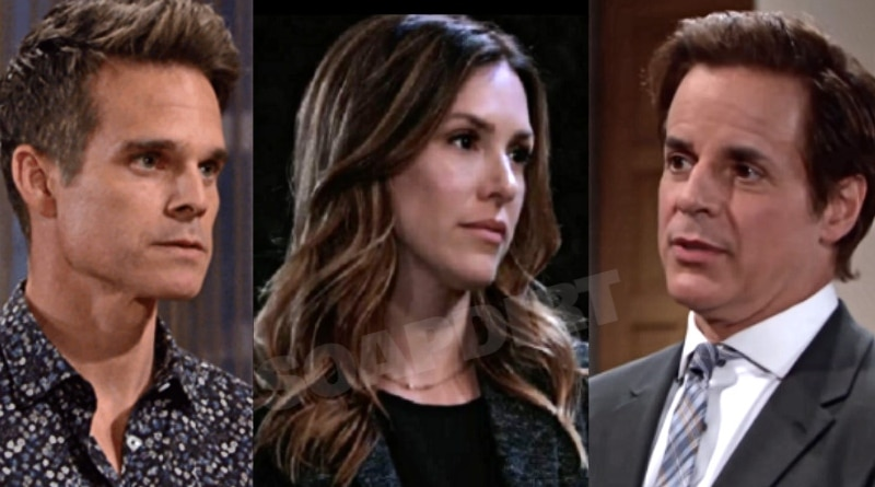 Young and the Restless Spoilers: Chloe Mitchell (Elizabeth Hendrickson) - Kevin Fisher (Greg Rikaart) - Michael Baldwin (Christian LeBlanc)