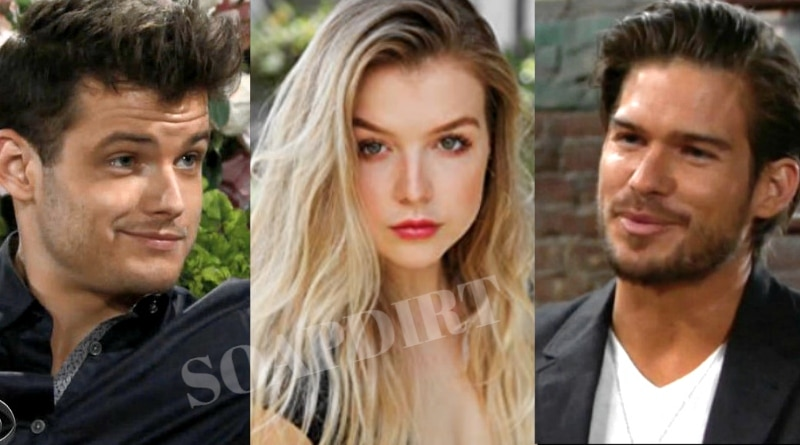 Young and the Restless Spoilers: Kyle Abbott (Michael Mealor) - Zoe Hardisty (Anna Grace Barlow) - Theo Vanderway (Tyler Johnson)