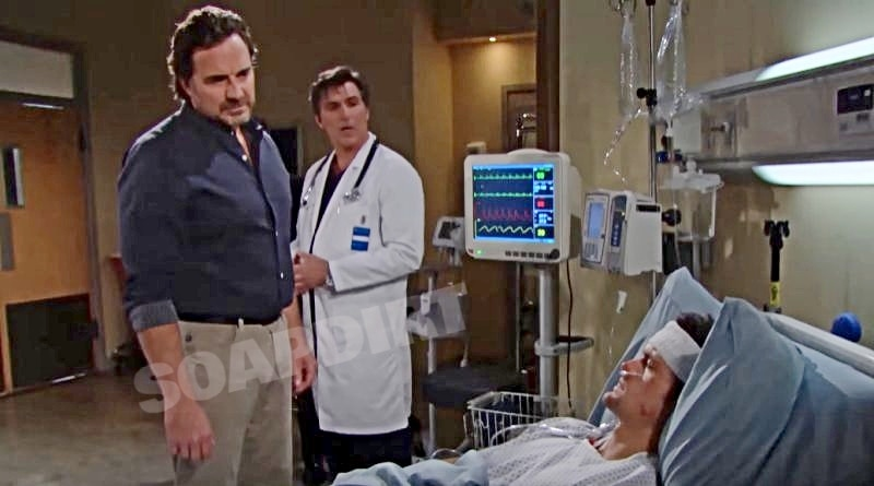Bold and the Beautiful Spoilers: Ridge Forrester (Thorsten Kaye) - Jordan Armstrong (Vincent Irizarry) - Thomas Forrester (Matthew Atkinson)