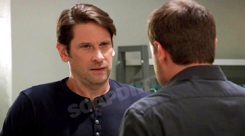 General Hospital Spoilers: Drew Cain (Billy Miller) - Franco Baldwin (Roger Howarth)