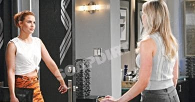 Bold and the Beautiful Spoilers: Sally Spectra (Courtney Hope) - Flo Fulton (Katrina Bowden)