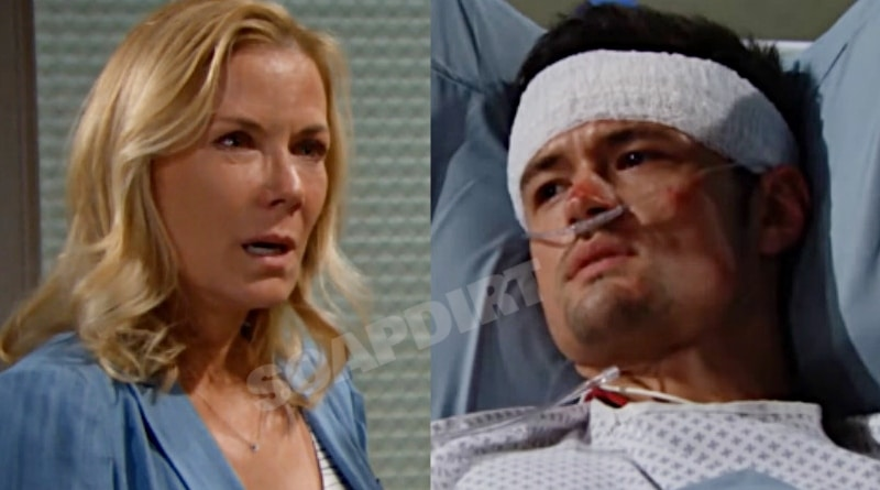Bold and the Beautiful Spoilers: Brooke Logan (Katherine Kelly Lang) - Thomas Forrester (Matthew Atkinson