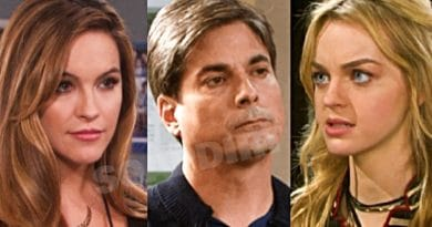 Days of Our Lives Spoilers: Jordan Ridgeway (Chrishell Stause) - Lucas Horton (Bryan Dattilo) - Claire Brady (Olivia Rose Keegan)