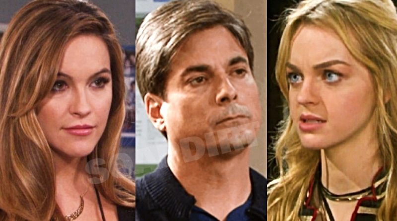Days of Our Lives Spoilers: Jordan Ridgeway (Chrishell Stause) - Lucas Horton (Bryan Dattilo) - Claire Brady (Olivia Rose Keegan)