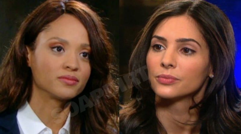 Days of Our Lives Spoilers: Lani Price (Sal Stowers) - Gabi Hernandez (Camila Banus)