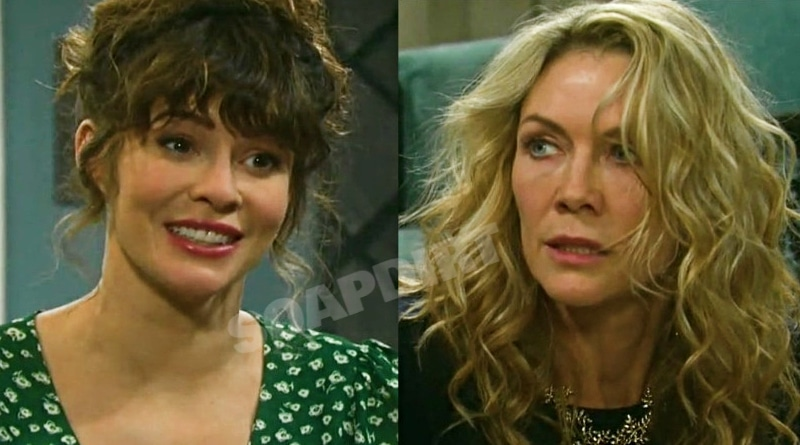 Days of Our Lives Spoilers: Sarah Horton (Linsey Godfrey) - Kristen DiMera (Stacy Haiduk)