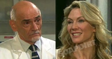 Days of Our Lives: Wilhelm Rolf (William Utay) - Kristen DiMera (Stacy Haiduk)