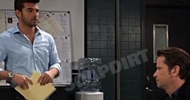 General Hospital spoilers: Harrison Chase (Josh Swickard) - Franco Baldwin (Roger Howarth)