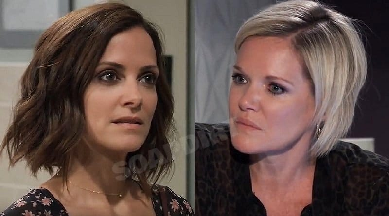 General Hospital Spoilers: Hayden Barnes (Rebecca Budig) - Ava Jerome (Maura West)