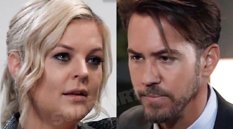 General Hospital Spoilers: Maxie Jones (Kirsten Storms) Peter August (Wes Ramsey)