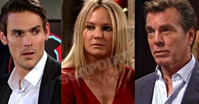 Young and the Restless: Adam Newman (Mark Grossman) - Sharon Newman (Sharon Case) - Jack Abbott (Peter Bergman)