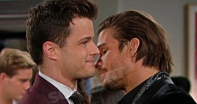 Young and the Restless: Kyle Abbott (Michael Mealor) - Theo Vanderway (Tyler Johnson)