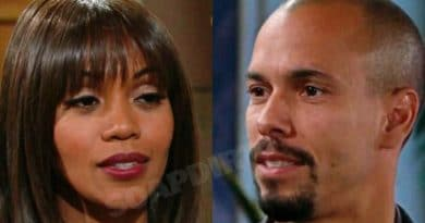 Young and the Restless Spoilers: Amanda Sinclair (Mishael Morgan) - Devon Hamilton (Bryton James)