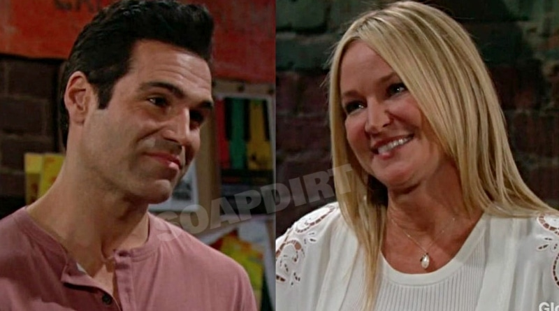 Young and the Restless Spoilers: Rey Rosales (Jordi Vilasuso) - Sharon Newman (Sharon Case)