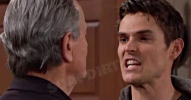 Young and the Restless: Victor Newman (Eric Braeden) - Adam Newman (Mark Grossman)