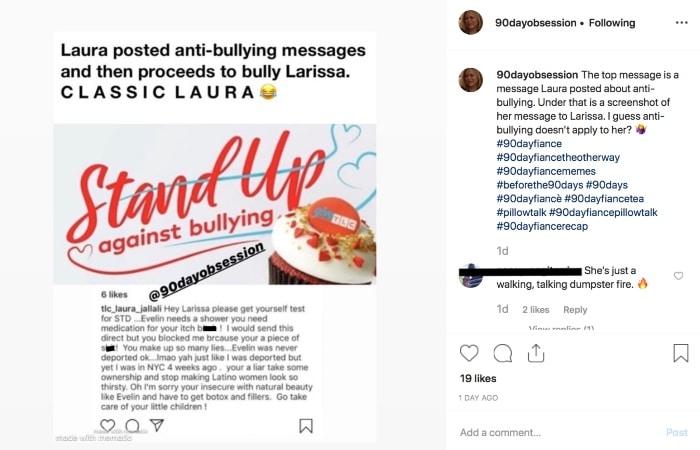 90 Day Fiance: Laura Jallali - Instagram