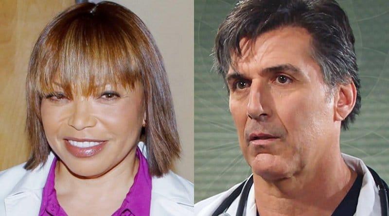 Bold and the Beautiful: Dr Davis (Tisha Campbell) - Jordan Armstrong (Vincent Irizarry)