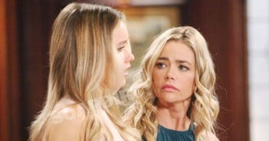 Bold and the Beautiful Spoilers: Flo Fulton (Katrina Bowden) - Shauna Fulton (Denise Richards)