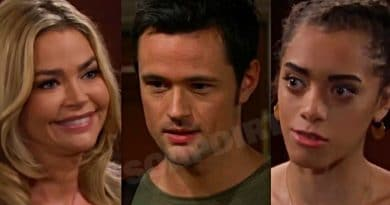 Bold and the Beautiful Spoilers: Shauna Fulton (Denise Richards) - Thomas Forrester (Matthew Atkinson) - Zoe Buckingham (Kiara Barnes)