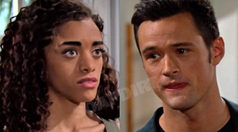 Bold and the Beautiful Spoilers: Zoe Buckingham (Kiara Barnes) - Thomas Forrester (Mattew Atkinson)
