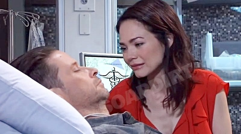 General Hospital Spoilers: Elizabeth Webber (Rebecca Herbst) Franco Baldwin (Roger Howarth)