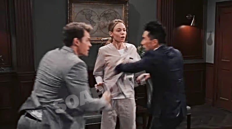 General Hospital Spoilers: Michael Corinthos (Chad Duell) Nelle Hayes (Chloe Lanier) - Brad Cooper (Parry Shen)