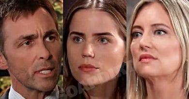 General Hospital Spoilers: Valentin Cassadine (James Patrick Stuart) - Sasha Gilmore (Sofia Mattsson) - Nina Reeves (Cynthia Watros)