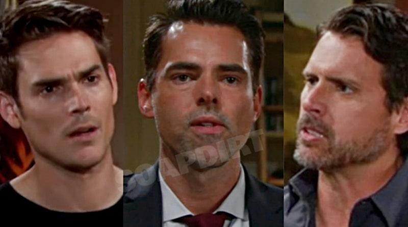 Young and the Restless Spoilers: Adam Newman (Mark Grossman) - Billy Abbott (Jason Thompson) - Nick Newman (Joshua Morrow)