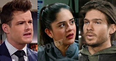 Young and the Restless Spoilers: Kyle Abbott (Michael Mealor) - Lola Rosales (Sasha Calle) - Theo Vanderway (Tyler Johnson)