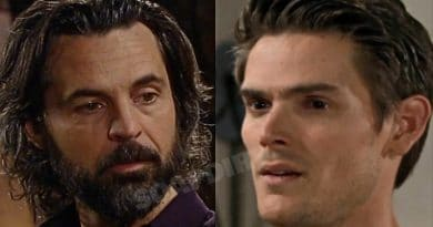 Young and the Restless Spoilers: Simon Black (Jeffrey Vincent Parise) - Adam Newman (Mark Grossman)