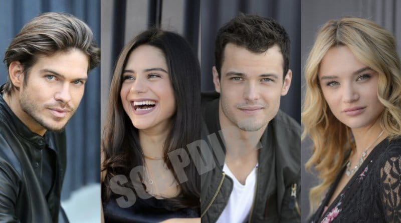Young and the Restless Spoilers: Theo Vanderway (Tyler Johnson) - Lola Rosales (Sasha Calle) - Kyle Abbott (Michael Mealor) - Summer Newman (Hunter King)