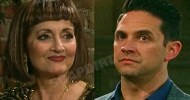 Days of Our Lives Spoilers: Vivian Alamain (Robin Strasser) - Stefan DiMera (Brandon Barash)
