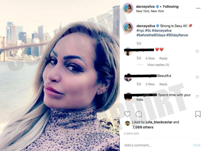 90 Day Fiance: Darcey Silva - Instagram