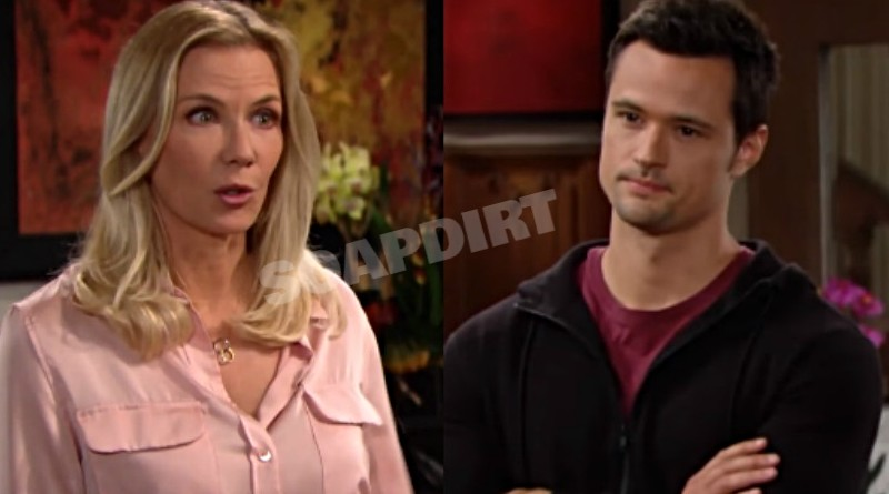 Bold and the Beautiful Spoilers: Brooke Logan (Katherine Kelly Lang) - Thomas Forrester (Matthew Atkinson)