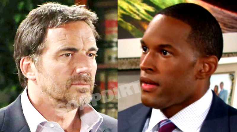 Bold and the Beautiful Spoilers: Carter Walton (Lawrence Saint-Victor) - Ridge Forrester (Thorsten Kaye)