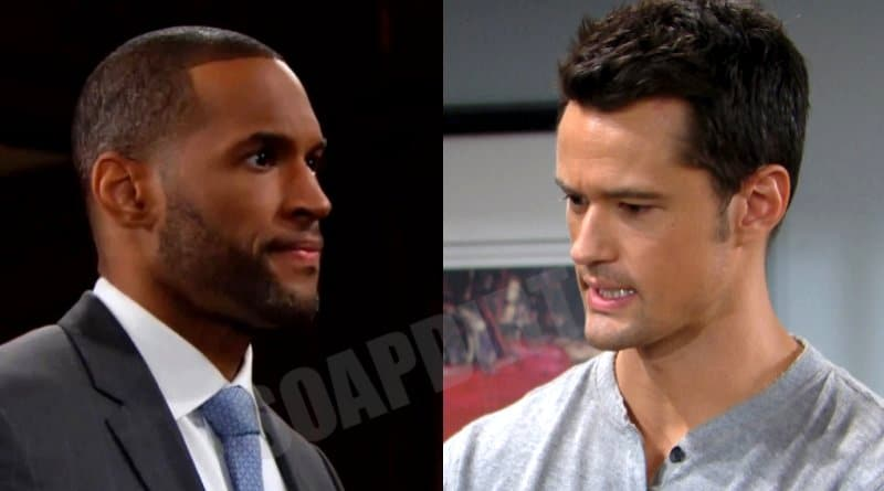 Bold and the Beautiful Spoilers: Thomas Forrester (Matthew Atkinson) - Carter Walton (Lawrence Saint-Victor)