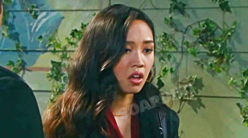 Days of Our Lives Spoilers: Haley Chen (Thia Megia)
