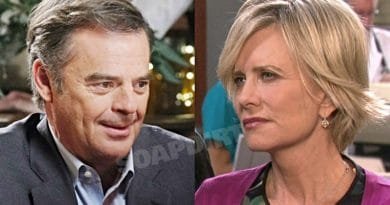 Days of Our Lives Spoilers: Justin Kiriakis (Wally Kurth) - Kayla Brady (Mary Beth Evans)