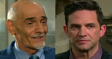 Days of Our Lives Spoilers: Rolf Wilhelm (William Utay) - Stefan DiMera (Brandon Barash)