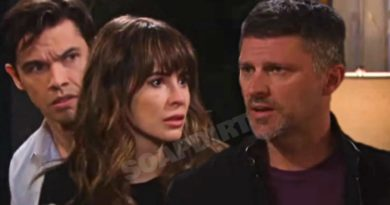 Days of Our Lives Spoilers: Xander Cook (Paul Telfer) - Sarah Horton (Linsey Godfrey) - Eric Brady (Greg Vaughan)