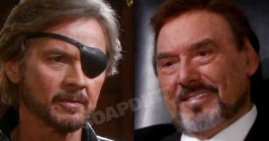 Days of Our Lives Spoilers: Steve Johnson (Stephen Nichols) - Stefano DiMera (Joseph Mascolo)