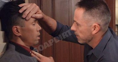 General Hospital Spoilers: Brad Cooper (Parry Shen) Julian Jerome (William deVry)